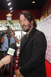 Keanu Reeves at Fantastic Fest