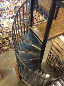 I Luv Video Spiral Staircase