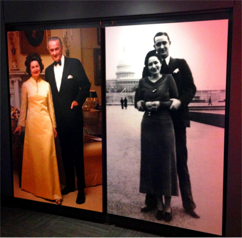 LBJ and Lady Bird