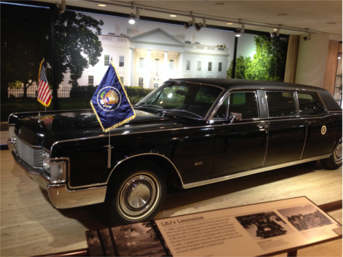 LBJ Post Presidency Limo
