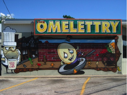 The Omelettry in Austin