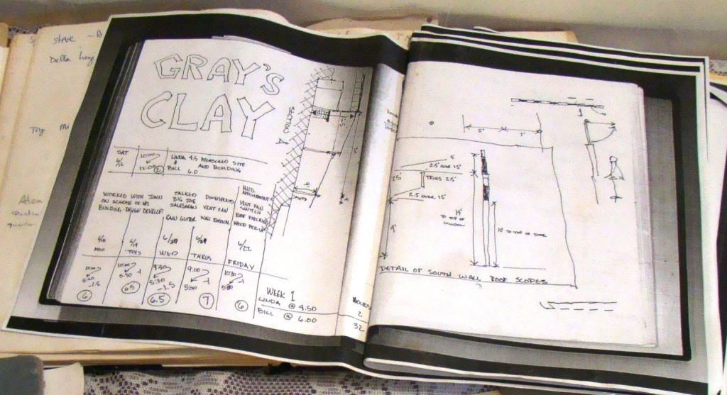 Clayworks Old Design and Log Book
