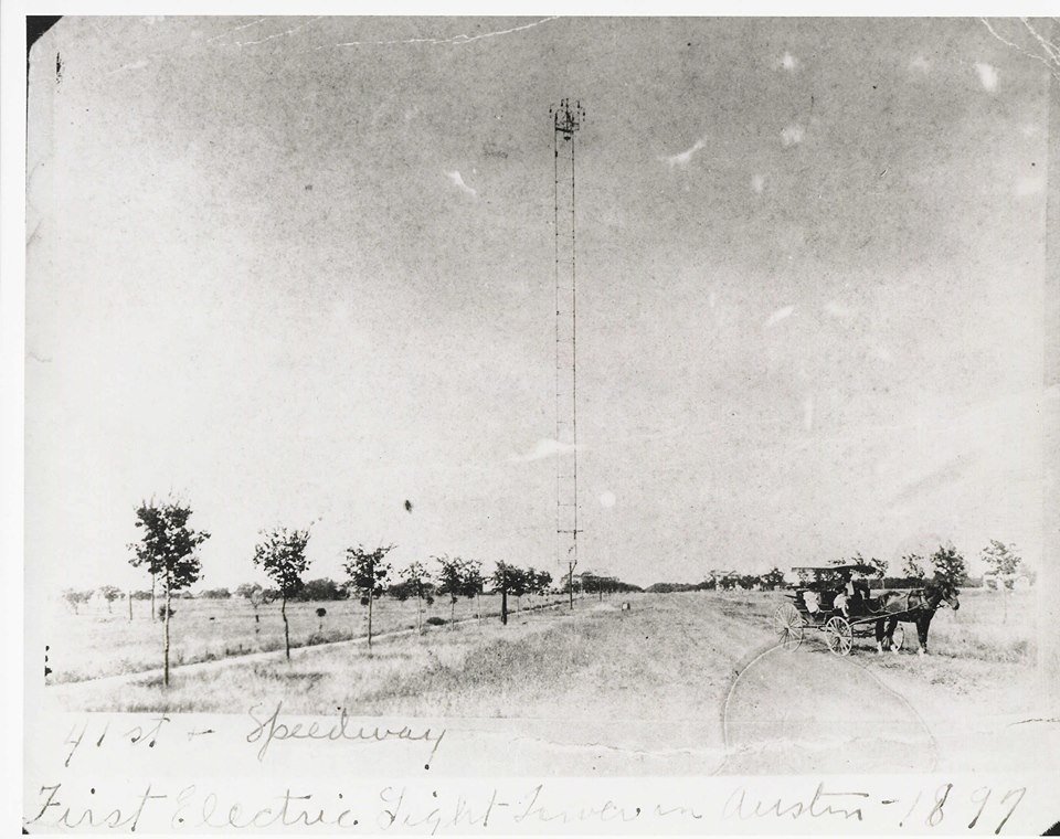 Austin First Moonlight Tower