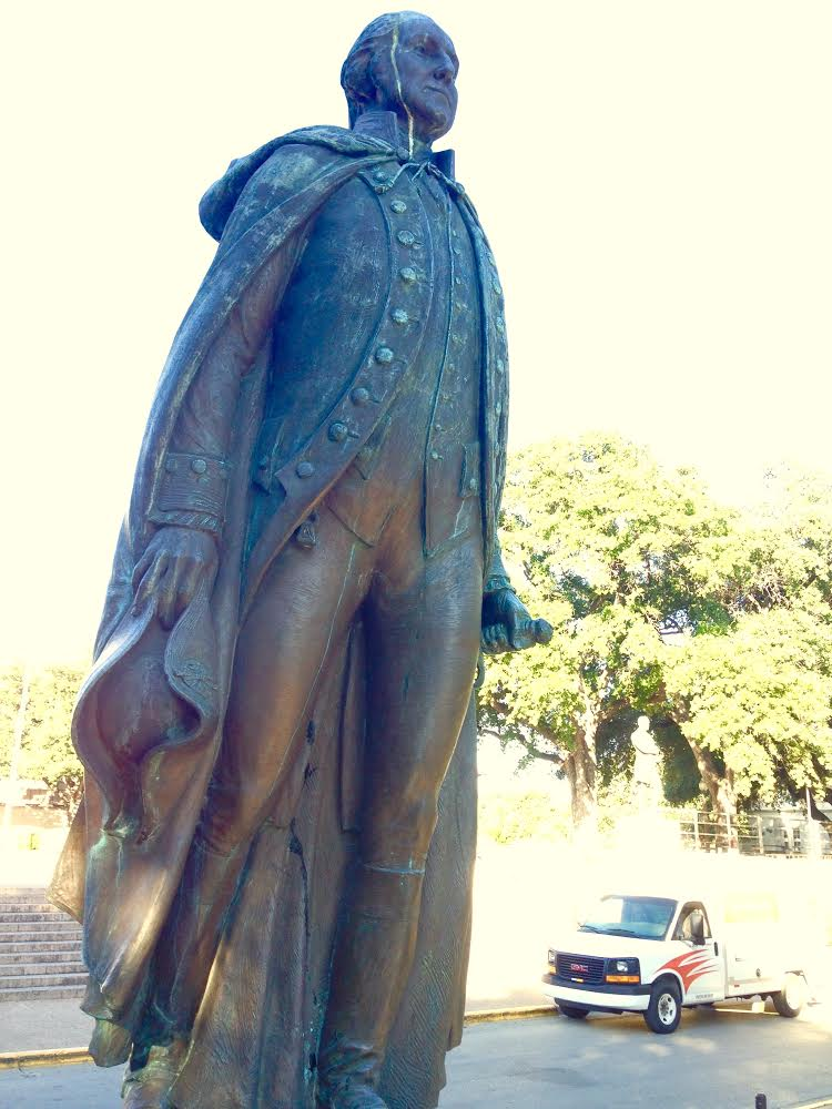 George Washington Statue University of Texas