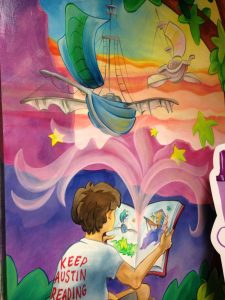 BookPeople Children's Area Mural