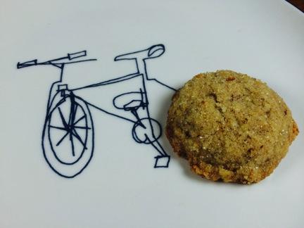 Pecan Drop Cookie at Pacha Organic Cafe