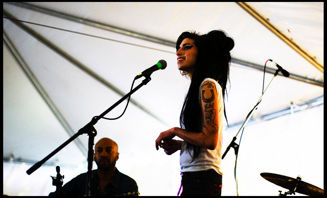 Amy Winehouse performs at Stubb's for SXSW 2007