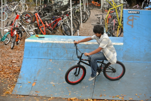 Austin Bike Farm ramp