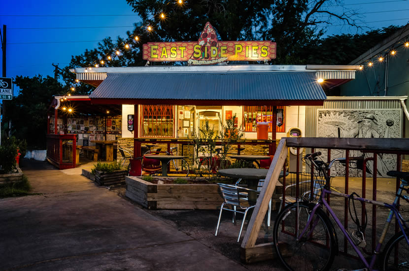 East Side Pies in Austin