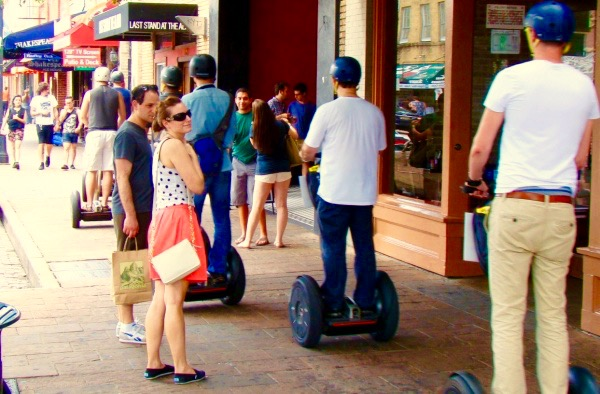 Segway tour of Austin
