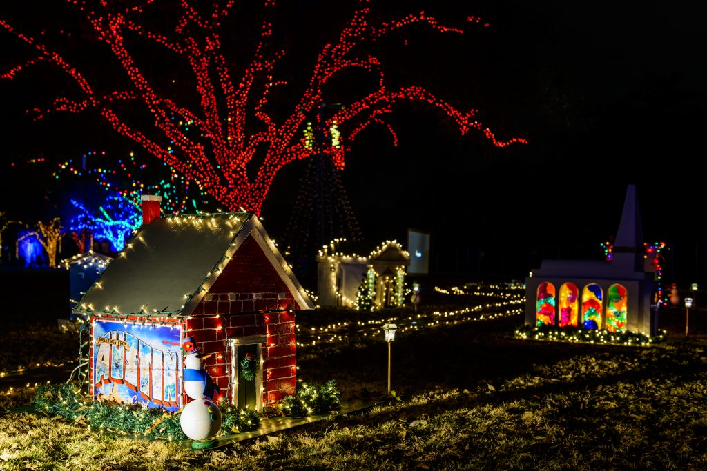 Tiny Town at Trail of Lights 2014