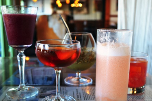 Cocktails at Buenos Aires Cafe
