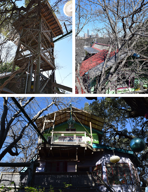 Casa Neverlandia Treehouse and View of Downtown Austin