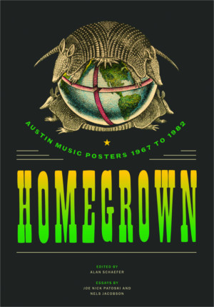 Homegrown Austin Music Posters Book