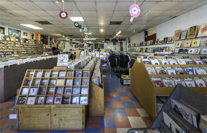 Antone's Records in Austin