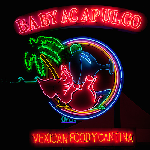 Baby Acapulco Sign in Austin