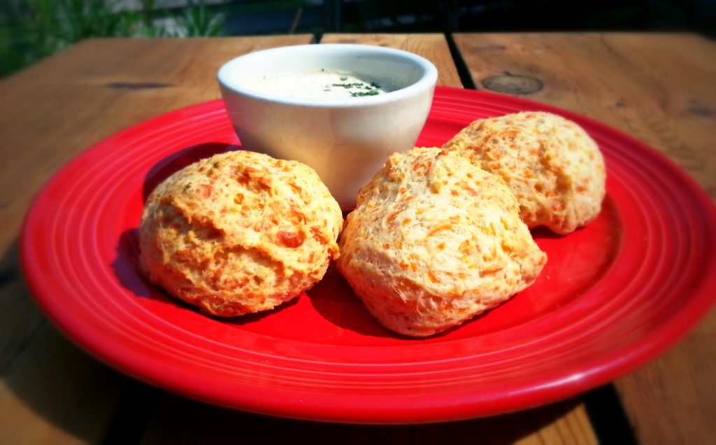 Cheese Biscuits at Red's Porch
