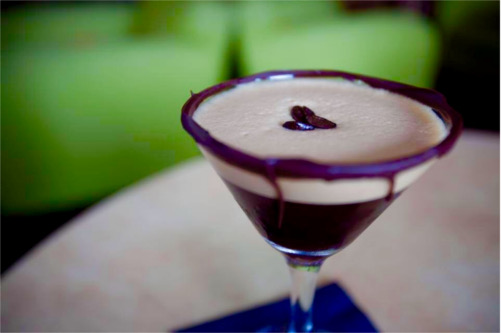 Chocolate Espresso Martini at Halcyon