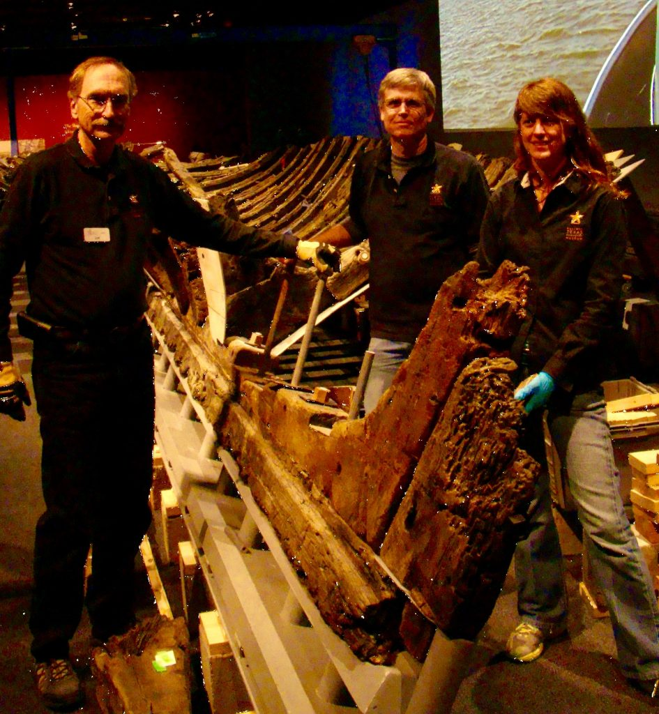 La Belle Shipwreck Archaeologists
