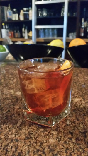 Vieux Carre Cocktail at Peche