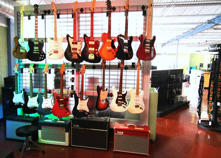 Guitars at Rock N Roll Rentals