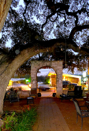 OPA archway in Austin