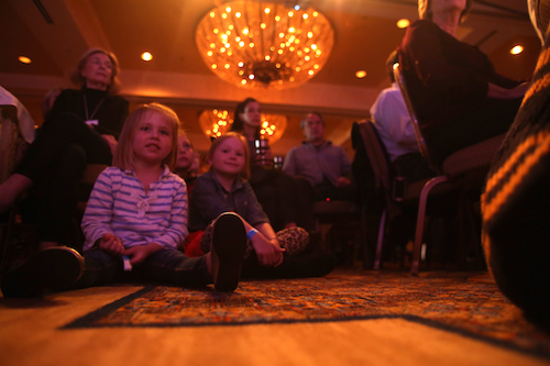 Children at KUTX Live at The Four Seasons