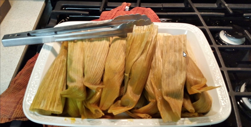 Finished Tamales by Kay Marley-Dilworth