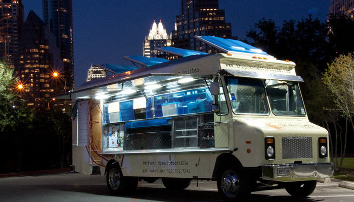 The Peached Tortilla Food Truck in Austin