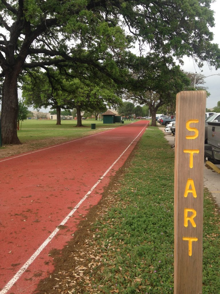 Camp Mabry Running Track