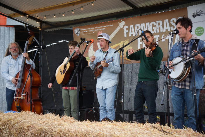 Bluegrass Music at Farmgrass Fest