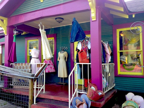 Flashback Clothing on South First Street in Austin