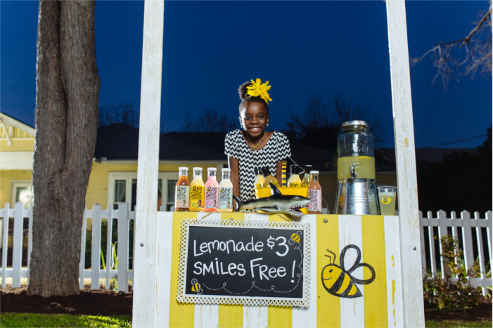 Mikaila Ulmer with BeeSweet Lemonade Stand