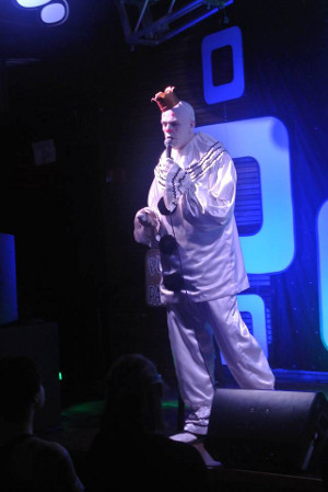 Puddles Pity Party sings Abba song 2014 Moontower Comedy Festival