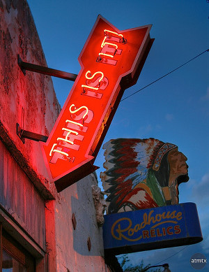 Roadhouse Relics South First Austin