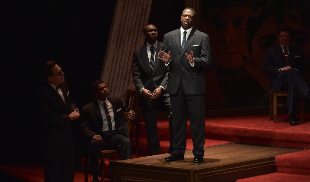 Melvin Abston as Dr. Martin Luther King Jr. in All the Way