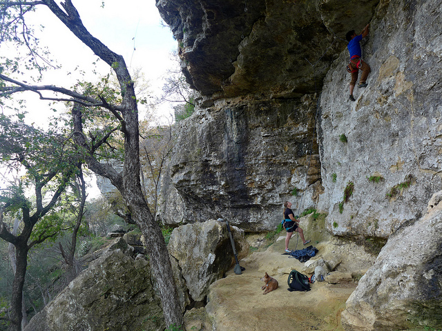 Rock Climbing at Reimers Ranch