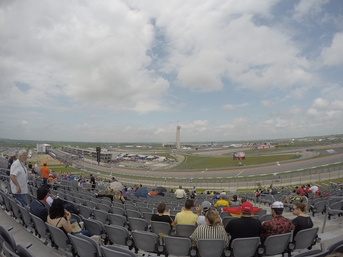 View of COTA Track From Turn 1