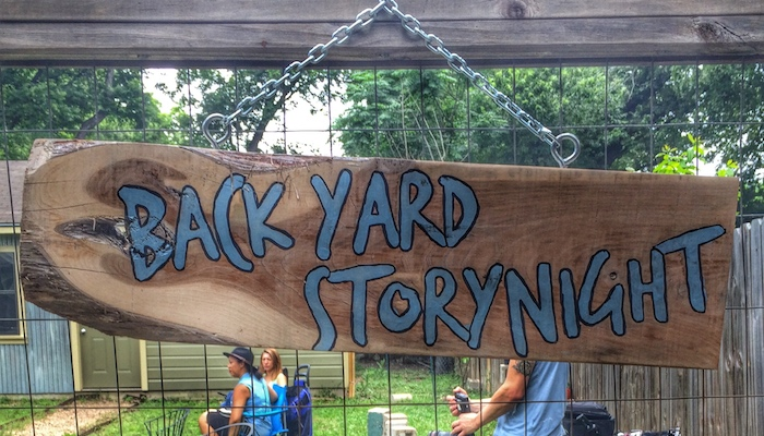 Backyard Story Night in Austin