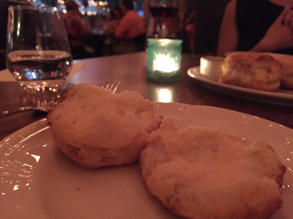 Biscuits at Fixe in Austin