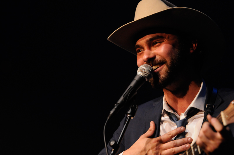Shakey Graves on Stage