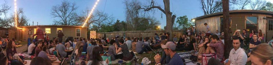 Backyard Story Night in Austin, TX