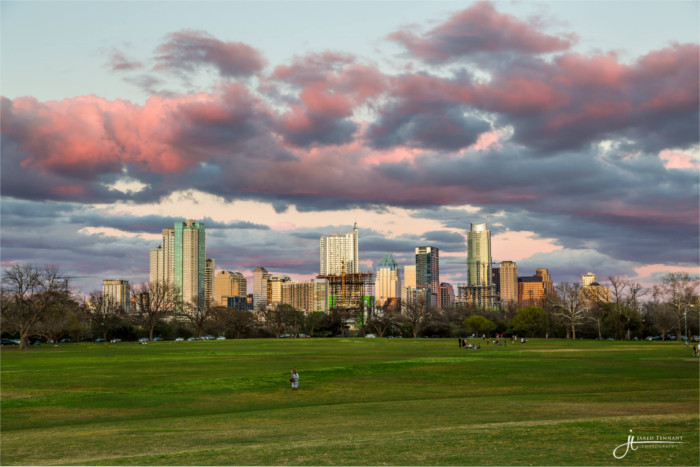 Zilker Park Sunset