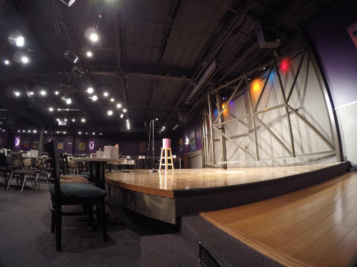 Cap City Comedy Club Stage