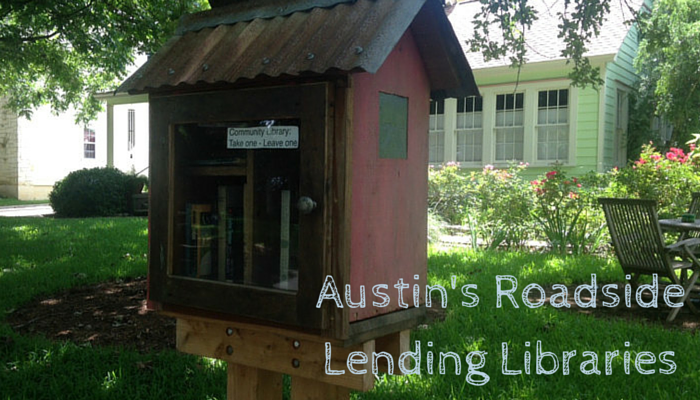 Roadside Lending Libraries in Austin