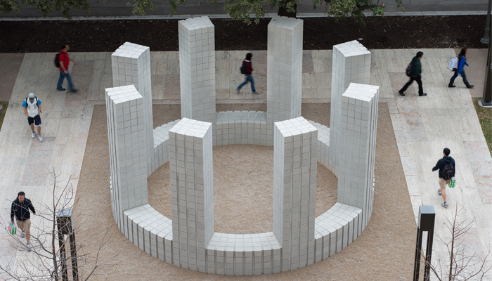 Sol LeWitt, Circle with Towers