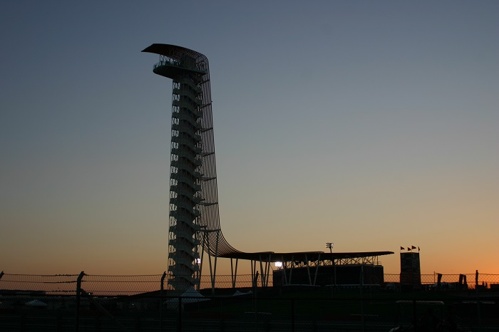 Sunset at Circuit of the Americas