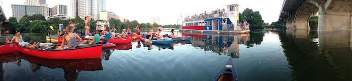 Lady Bird Lake Kayaking and Riverboat