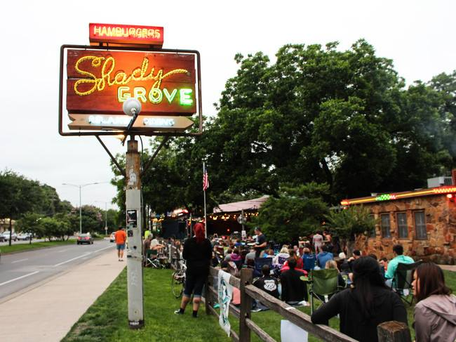 Happy Hour at Shady Grove
