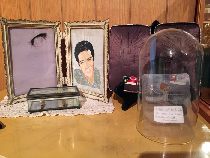 Piece of Elvis' Hair in Austin